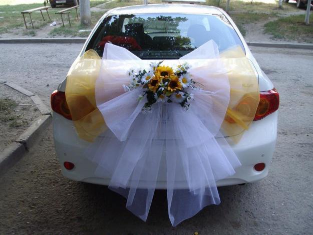 Как украсить машину тканью
