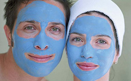 Маска для тіла блакитна глина - геть целюліт