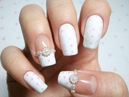 Як зробити гарний і модний манікюр на квадратні нігті