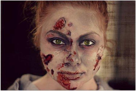 Готовимся к Хэллоуину: как сделать макияж зомби в домашних условиях