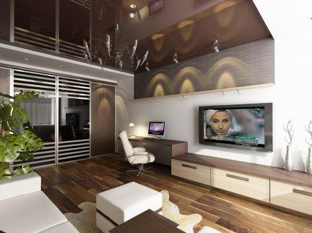 Інтер'єр двокімнатної квартири