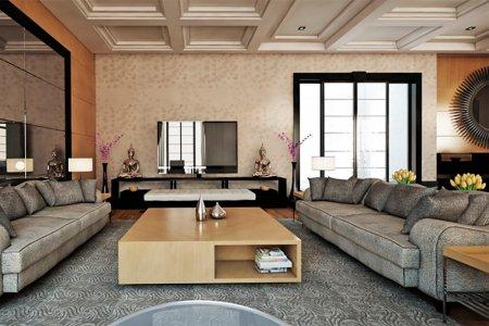 Как оформить интерьер гостиной в современном стиле своими руками