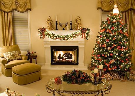 К новому году украшения в дом
