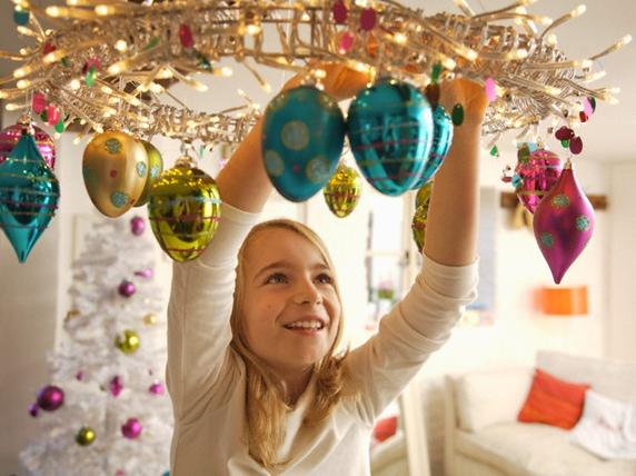 Украшение дома к празднику