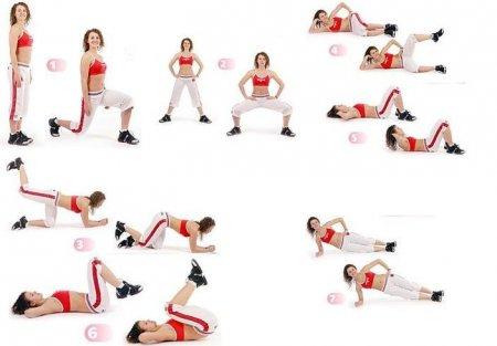 Фітнес будинку: вправи для сідниць і стегон