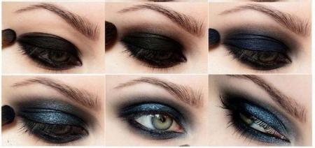 Макияж глаз smokey eyes: секреты техники