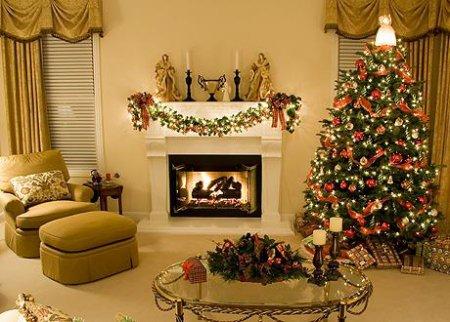 Як прикрасити будинок до Нового року 2016
