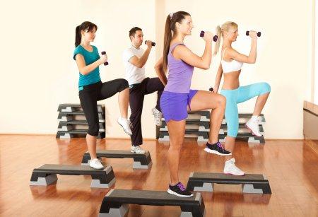 Степ-аеробіка: ефект від занять помітний вже через тиждень