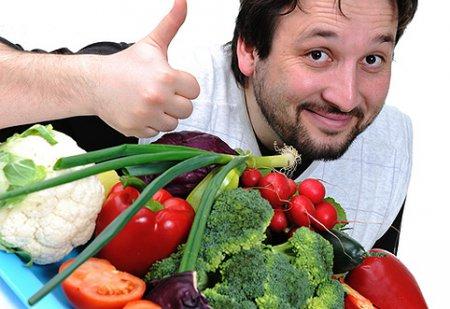 Правильне харчування для чоловіків: поради колишня пані