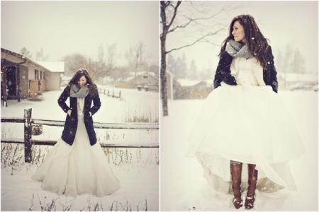 Стилісти розповіли, як одягнутися на весілля взимку