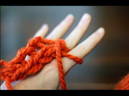 В'язання без спиць — диво своїми руками