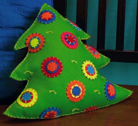 Новогоднее рукоделие поможет разукрасить праздник