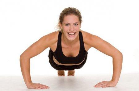 Фитнес для похудения рук