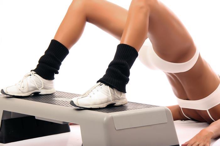 Фитнес на степе дома
