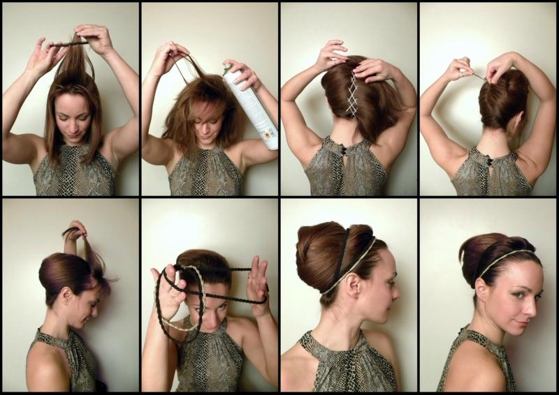 Причёска ракушка своими руками пошаговая инструкция