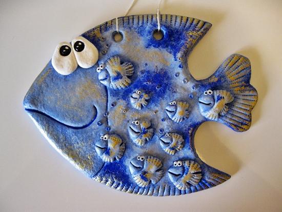 Рыбки из соленого теста своими руками пошаговая инструкция фото 76