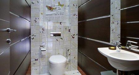 Маленький санвузол: як візуально розширити інтер'єр туалету