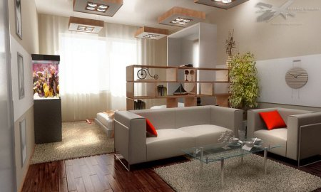 Яким повинен бути інтер'єр однокімнатної квартири