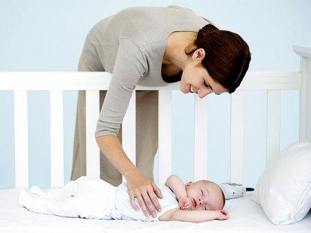 Как приучить ребенка засыпать без укачивания?