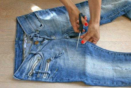 Хенд мейд джинси - як урізноманітнити гардероб своїми руками