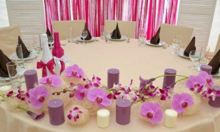 Прикраса весільного залу своїми руками