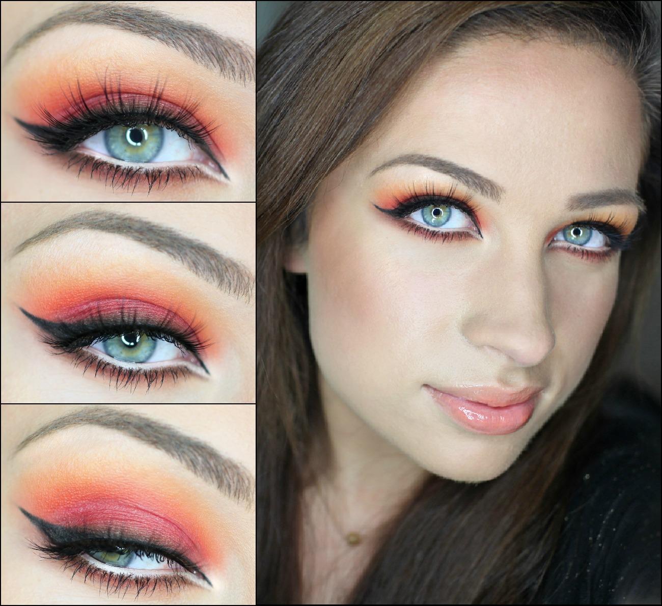 Как сделать яркий макияж глаз фото 438