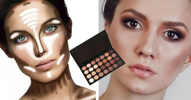 Что нужно из косметики чтобы сделать макияж