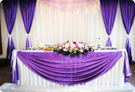 Как украсит свадебные столы