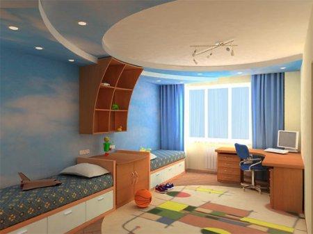 Интерьер детской комнаты: ТОП-5 самых удачных идей