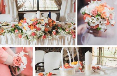 Главные правила украшения свадебного зала цветами