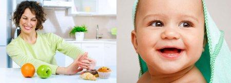 Каким должно быть правильное питание кормящей мамы