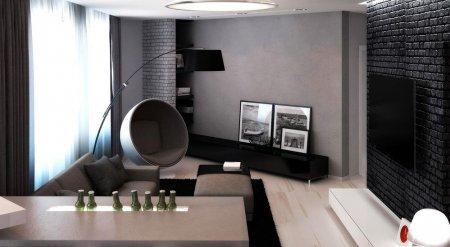 Интерьер квартиры для холостяка