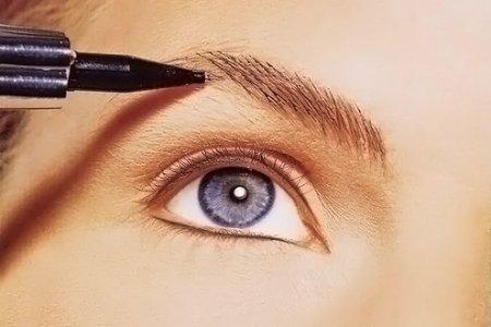 Каким карандашом красить черные брови