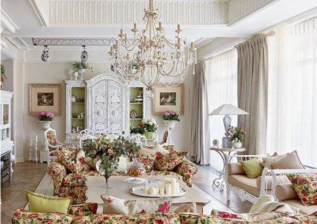 Інтер'єр будинку. Французький стиль завжди в моді