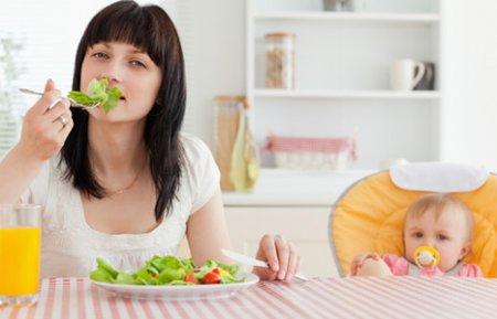 Дієта для схуднення годуючої мами: меню