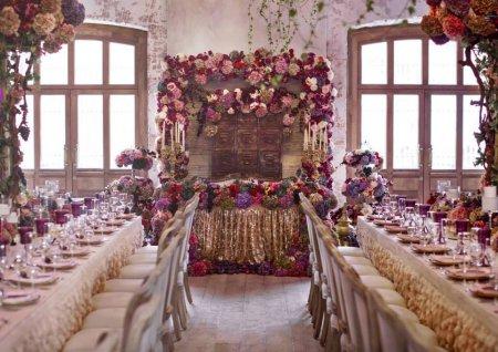 Інтер'єр залу для весілля