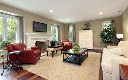 Як зробити інтер'єр залу в приватному будинку стильним без допомоги дизайнера?