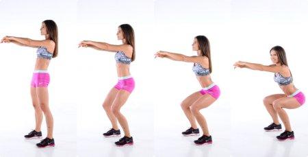 Фитнес упражнения для похудения бедер и ягодиц