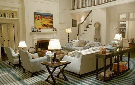 Интерьер дома в американском стиле