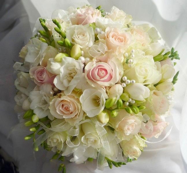 Букет невесты бусины купить