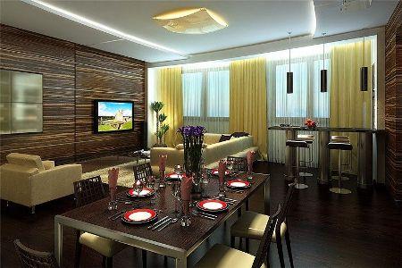 Стильный дизайн: интерьер столовой для вашей квартиры
