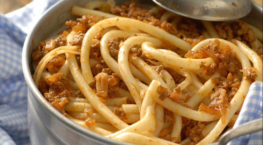 Спагетти по флотски рецепт с фото
