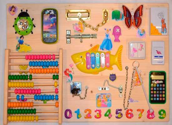 Развивающие предметы для детей своими руками