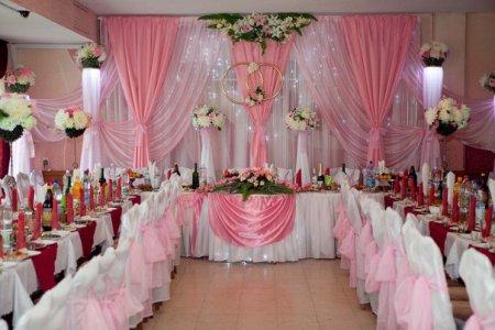 Декорирование свадебного зала своими руками 47