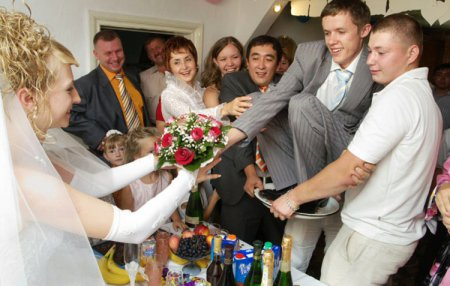 Конкурси на весілля (викуп нареченої)