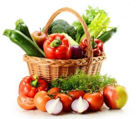 Здорове харчування: фрукти і овочі