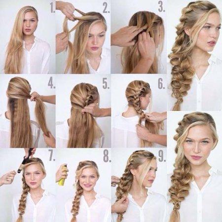 Як заплести волосся на кожен день