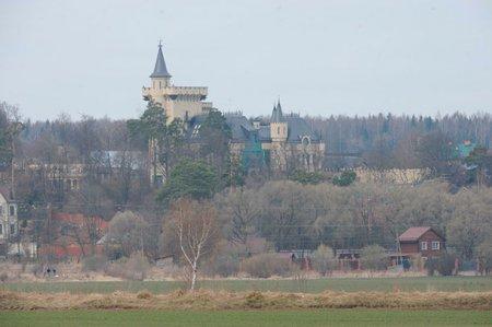 Замок Галкина кормит 20 семей