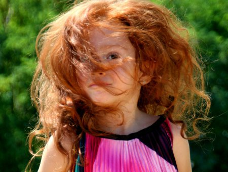 5 органічних речовин для догляду за природними рудим волоссям