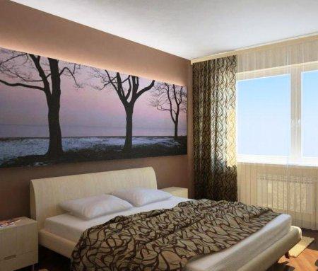 Дизайнерские идеи интерьера для маленькой спальни